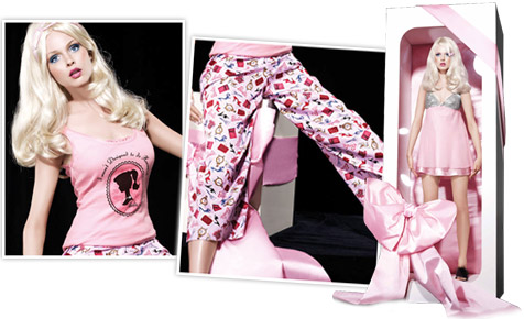 Peter Alexander designs sleepwear for your inner Barbie