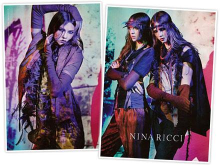 Nina Ricci's spring 2008 ad campaign
