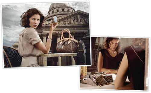 Laetitia Casta for Louis Vuitton Lifestyles fall 2008/09