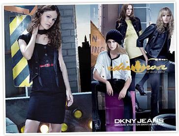 Rachel Bilson models her Edie Rose line for DKNY Jeans