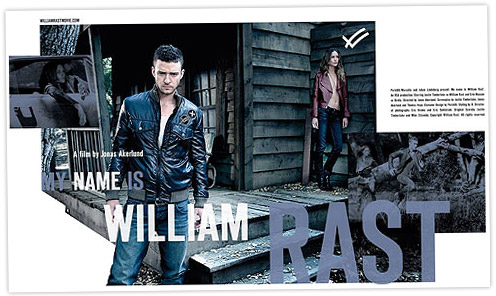 His name is William Rast: Justin Timberlake model for his denim line