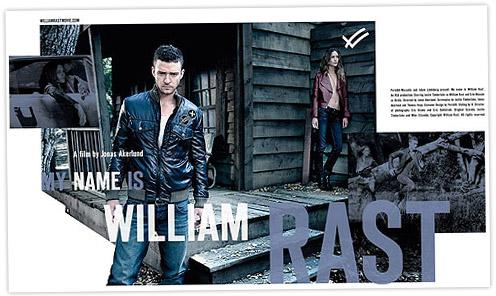 His name is William Rast: Justin Timberlake model for his denim line