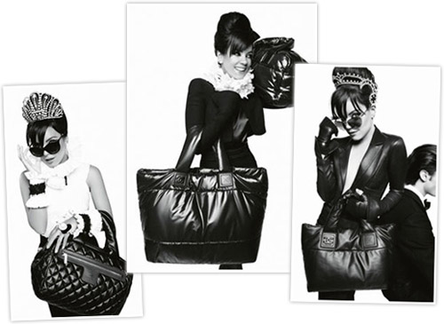 It really is Lily Allen for Chanel bags