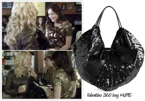 Valentino's 360 bag & Alexandre Birman shoes guest star on Gossip Girl and set to be instant best sellers?