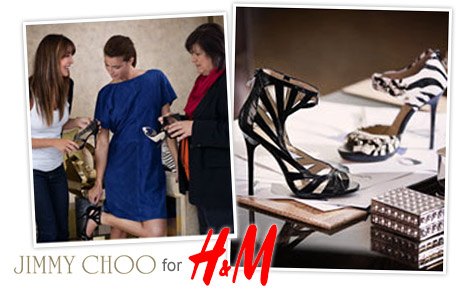 Breaking news: Jimmy Choo for H&M!