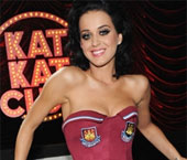 Katy Perry's West Ham United corset to be produced for fans