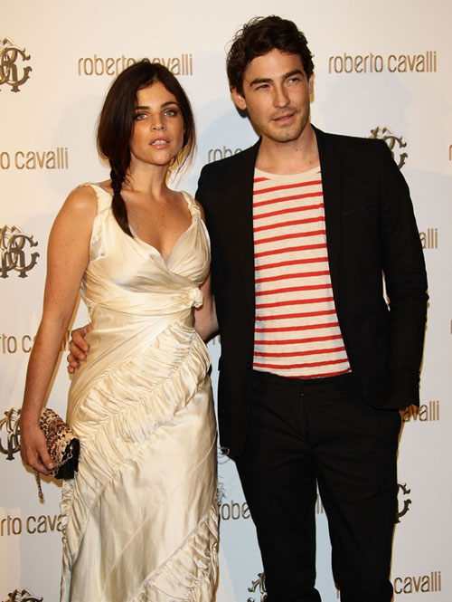 Julia Restoin Roitfeld with boyfriend Robert Konjic