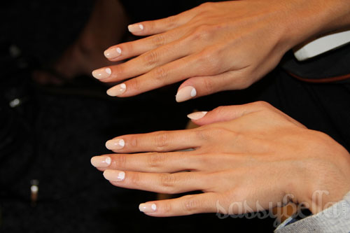 RAFW: Gail Sorronda Spring/Summer 2011 - Nails