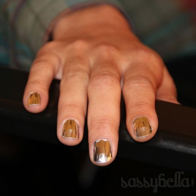 RAFW: Blixz Nails at Rachel Gilbert