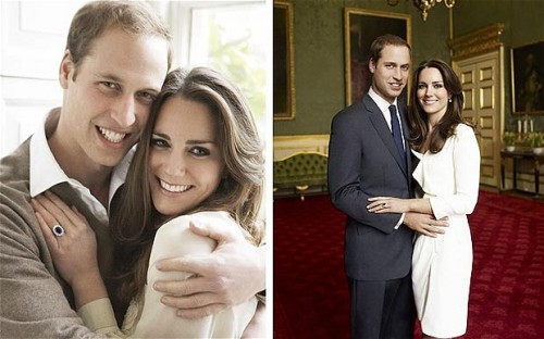 First look: Prince William and Kate Middleton by Mario Testino