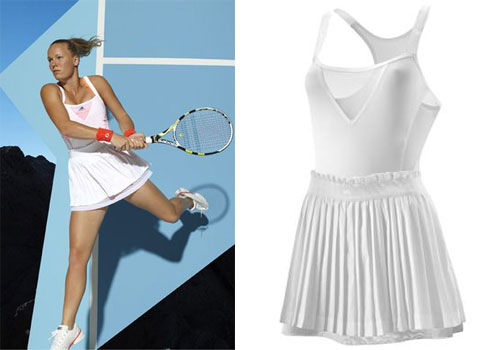 Caroline Wozniacki keeps tennis in fashion and beauty