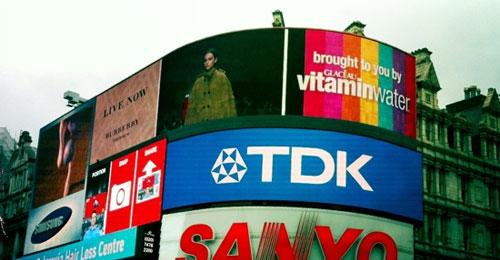 Burberry streams show in Piccadilly Circus; named most innovative fashion company