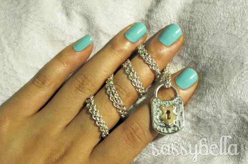 Blogger Diaries: Lock and loaded at Tiffany & Co