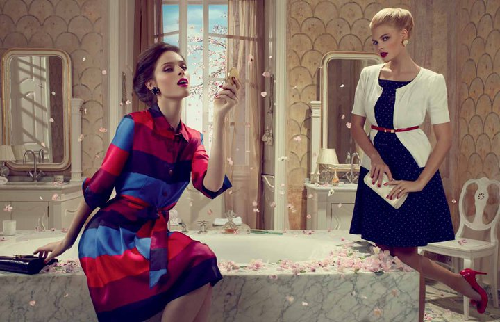 Looks we love: Coco Rocha for John Lewis Spring/Summer 2011