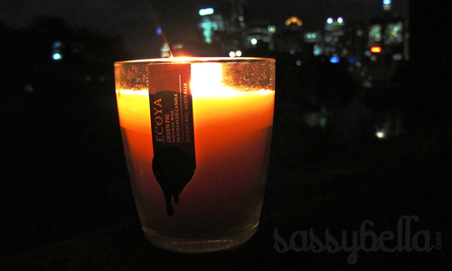 Earth Hour 2011, light up with Ecoya and Circa Home candles