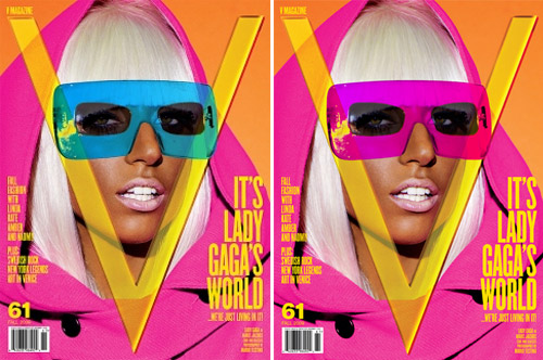 Lady Gaga is V Magazine's newest Columnist, wants your artwork