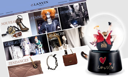 Lanvin launches online shop for Europe with limited edition items