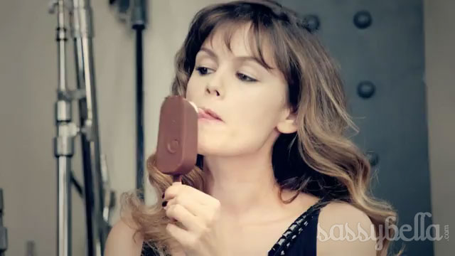 Rache Bilson for Magnum Ice Cream: Photo Mood