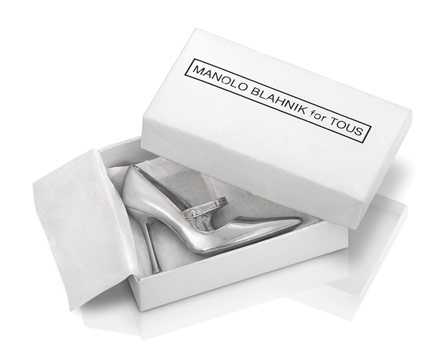 Manolo Blahnik x Tous, the Mary-Jane charms