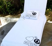 Mulberry Towels at the Mulberry Coachella Party