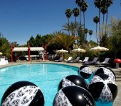 Mulberry Beach Balls at the Mulberry Coachella Party