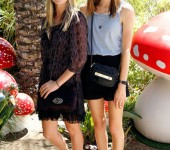At the Mulberry Coachella Party