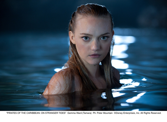 First look: Gemma Ward's Pirates of the Caribbean: On Stranger Tides promotional image