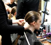 Thurley S/S 2011-12: Backstage beauty