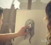 Rachel Bilson for Magnum Ice Cream: Art Class