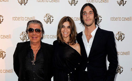 Carine Roitfeld shows up in Cannes for Cavalli; talks to the Financial Times