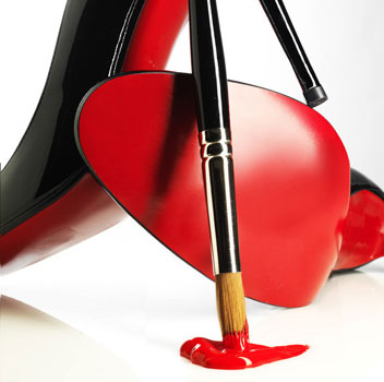 YSL tells Christian Louboutin that they didn't create the red sole