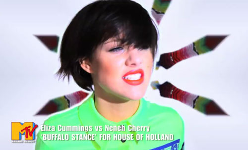 House of Holland pits Eliza Cummings vs Neneh Cherry for Pre-S/S 2012