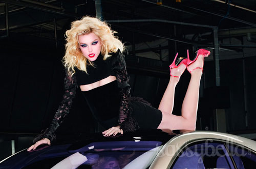 Jessica Stam for Mercedes Benz A-Class by Terry Richardson