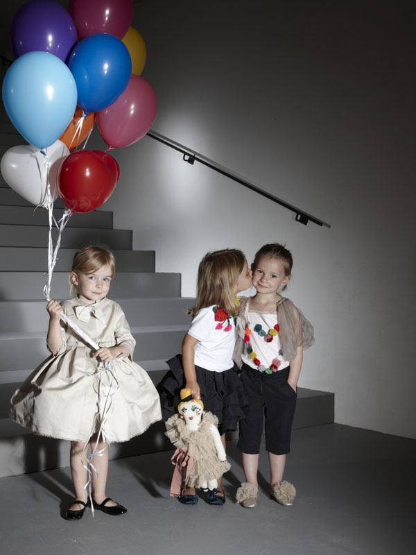 Lanvin pre-collection 2012 look book: a collection for pretty girls and their daughters
