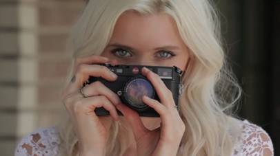 Behind the scenes: Abbey Lee Kershaw for Portmans S/S 2011-12