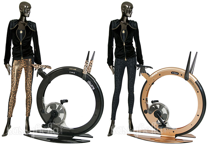 Roberto Cavalli does designer exercise bikes with Ciclotte Collection