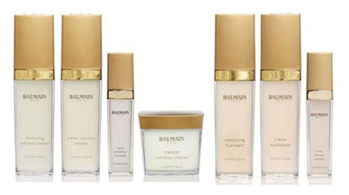 Balmain enters beauty world with a haircare line