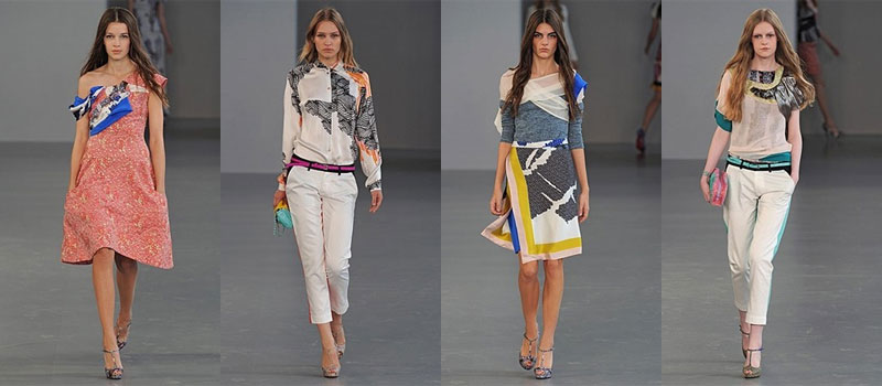 LFW: Michael van der Ham Spring/Summer 2012 is disjointed but we kind of love it