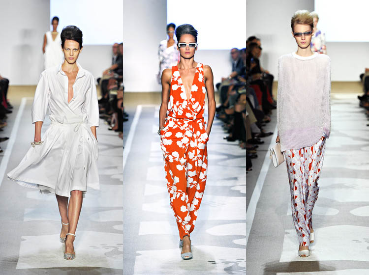 NYFW: Diane Von Furstenberg pays tribute to September 11 on her SS 2012 runway