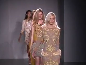 LFW: Matthew Williamson Spring/Summer 2012 impresses with his luxe boho lady