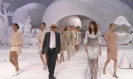 Paris Fashion Week: Chanel Spring/Summer 2012 is an underwater extravaganza