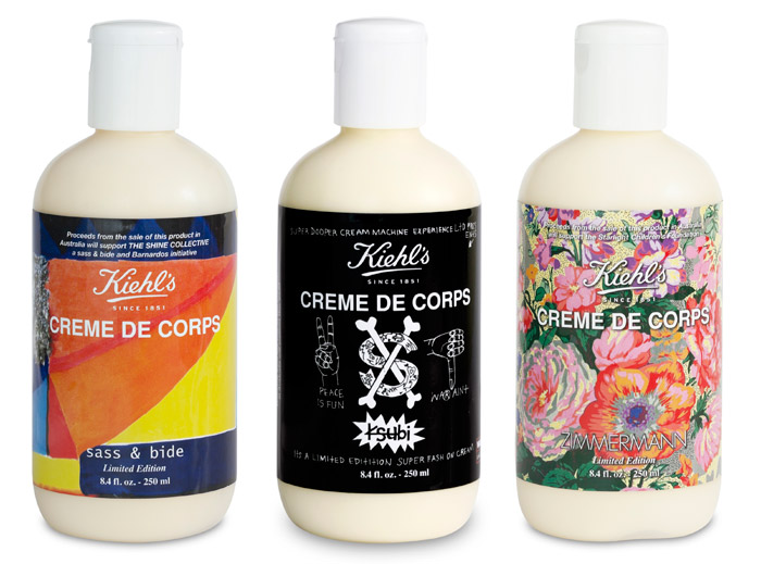 Sass & Bide, Zimmermann and Ksubi for does 'Fashion For Kiehl's' Creme de Corps