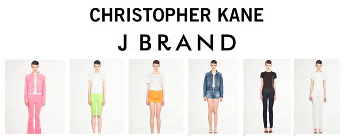 Christopher Kane collaborates with J Brand for Resort 2012