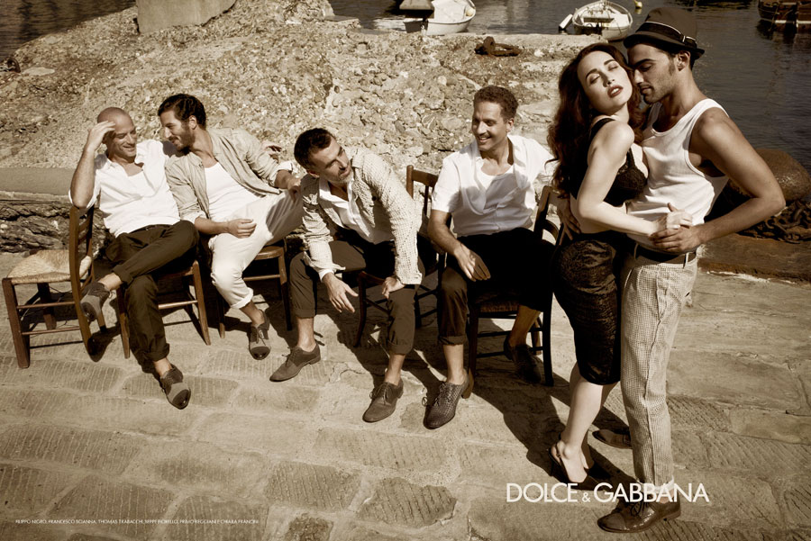 First look: Dolce & Gabbana Menswear S/S 2012 celebrates Italian cinema