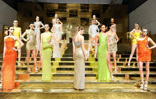 Paris Haute Couture S/S 2012: Welcome back, Versace