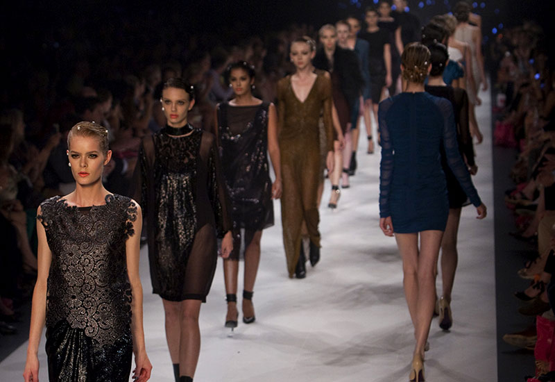 LMFF Runway 7 presented by Harper's Bazaar: A runway for embellishments