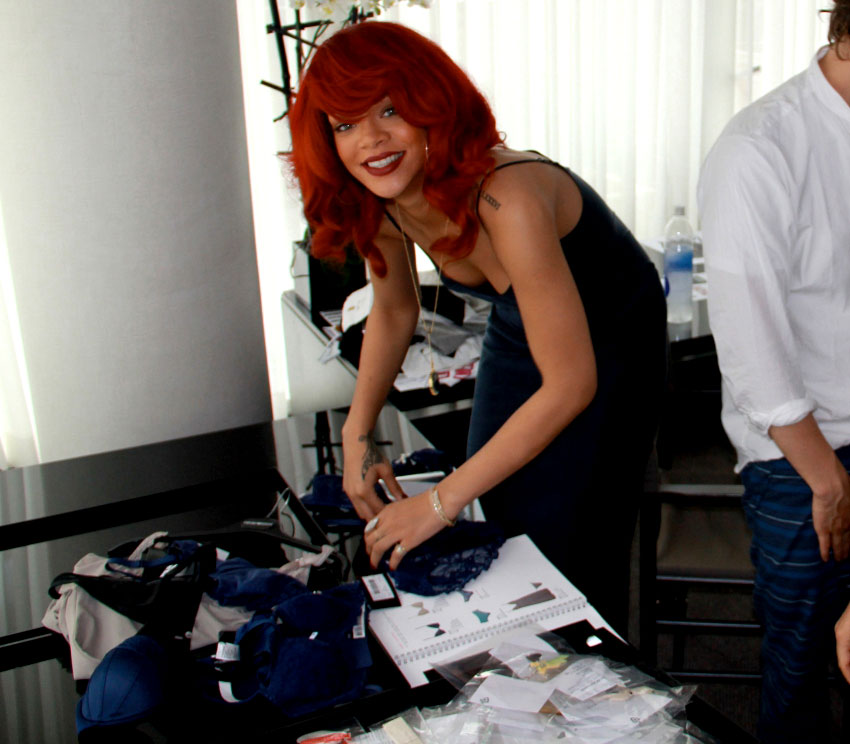 First look: Rihanna's second capsule collection for Armani Jeans and Emporio Armani Underwear