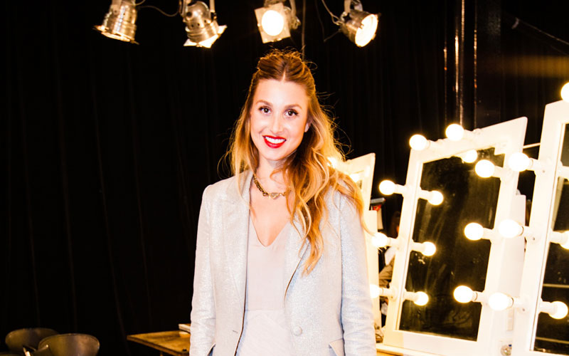 MBFWA: Mad Libs with the beautiful Whitney Port