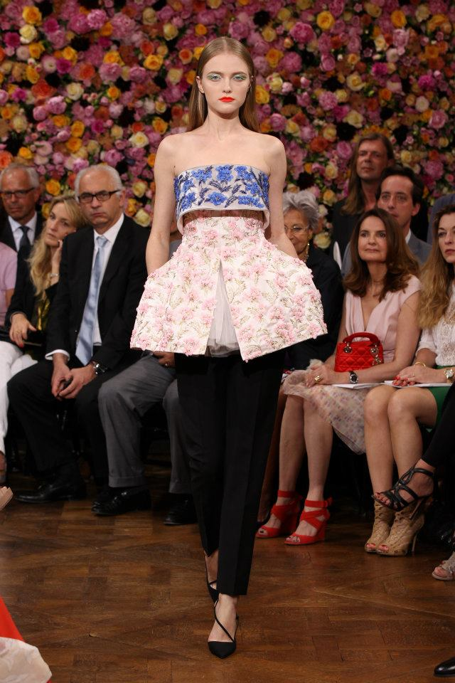Paris Haute Couture A/W 2013: Raf Simons presents his debut collection for Christian Dior