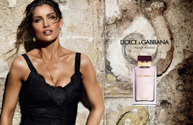 Laetitia Casta, the face of Dolce & Gabbana Pour Femme